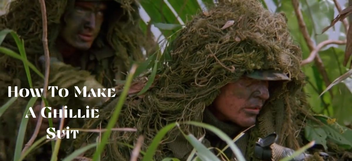 How To Make A Ghillie Suit?