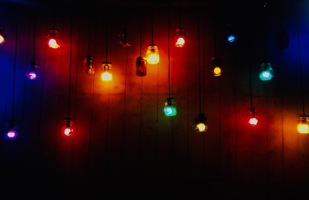 how to make colors on led lights